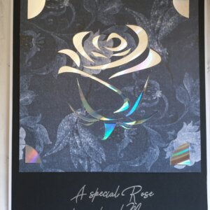 Special Rose mother's day greeting card