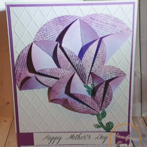 Flower Mothers Day Greeting Card
