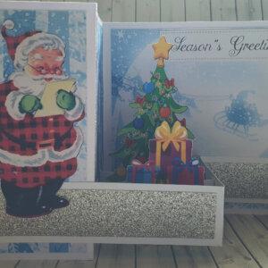 pop up christmas greeting card