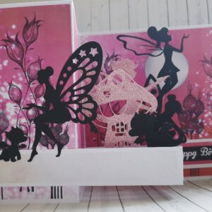 Fairy birthday greeting card